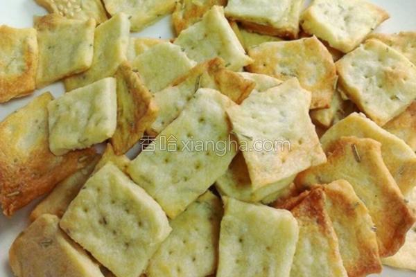 洋芋迷迭香饼干的做法