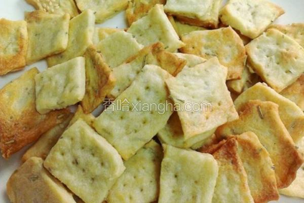 洋芋迷迭香饼干