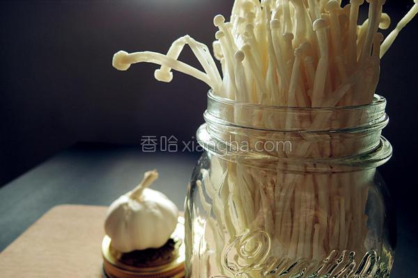 奶油蒜香金针菇的做法