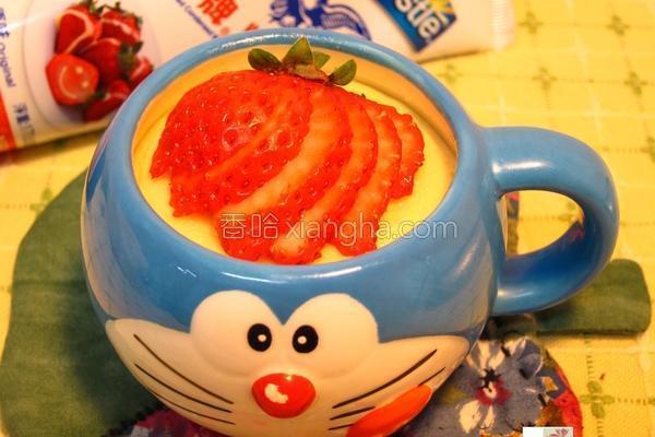姜汁炖奶蛋的做法