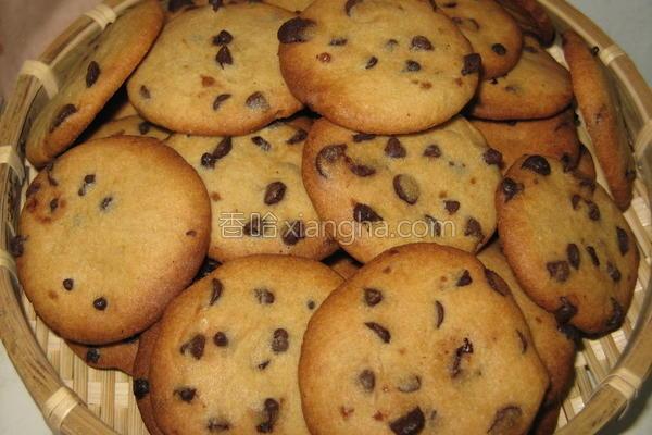 巧克力豆饼干的做法