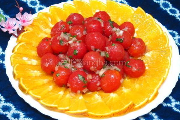 意式腌渍番茄沙拉的做法