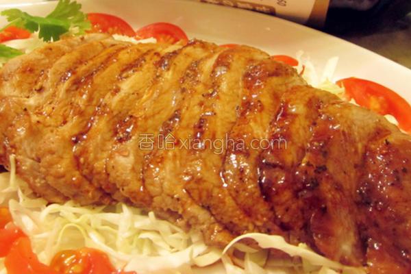 醋烧蜂蜜猪肉排的做法