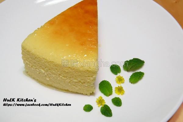 蜂蜜轻乳酪蛋糕的做法
