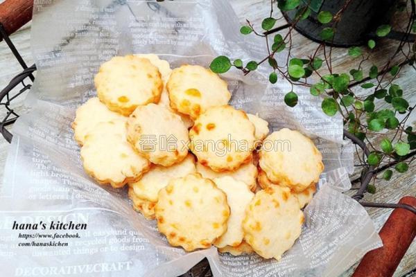 香酥起司饼干的做法