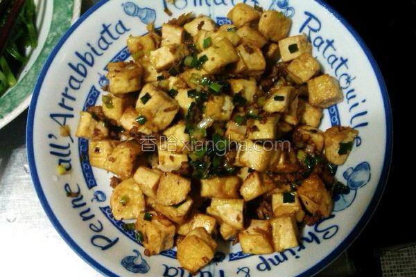 煎臭豆腐的做法