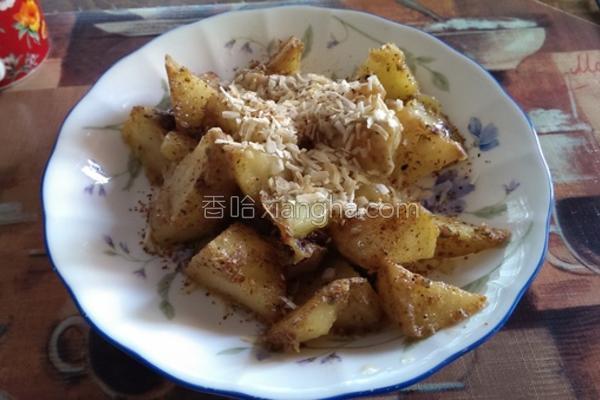 起司洋葱炒土豆的做法