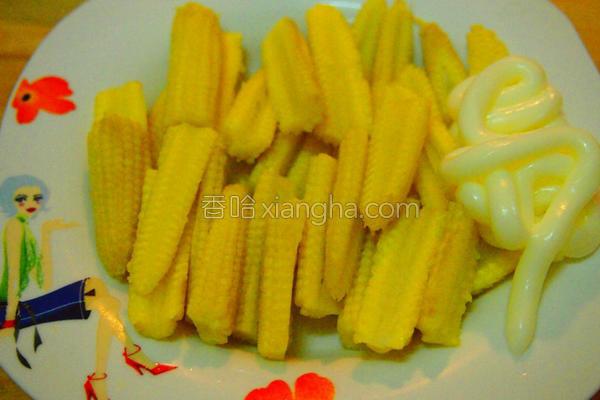 凉拌玉米笋的做法
