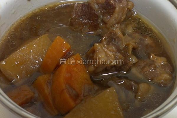 牛肉洋葱汤的做法