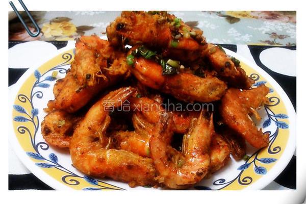 盐酥虾的做法