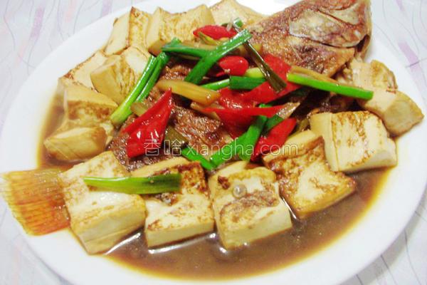 豆腐葱烧鱼的做法