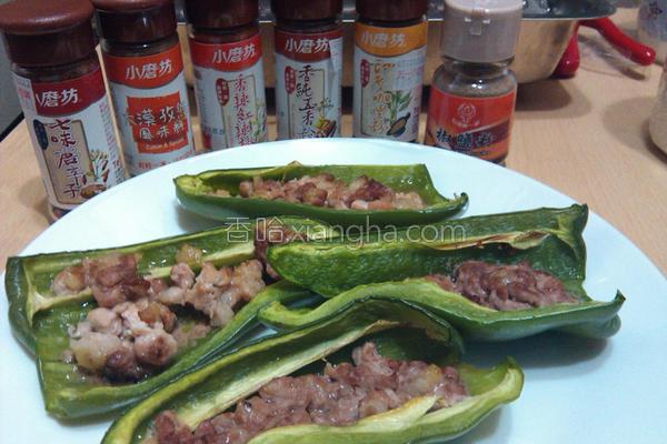 烤青椒镶肉