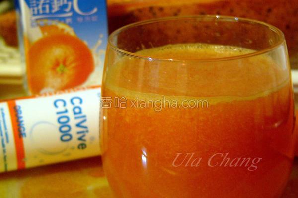 诺钙C木瓜汁的做法