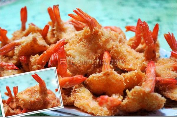黄金虾排的做法
