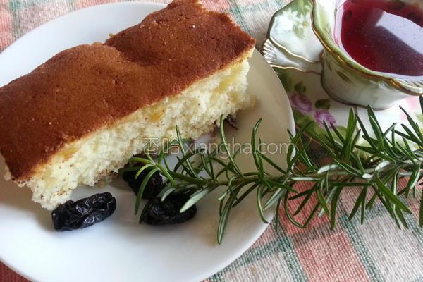 传统原味海绵蛋糕的做法