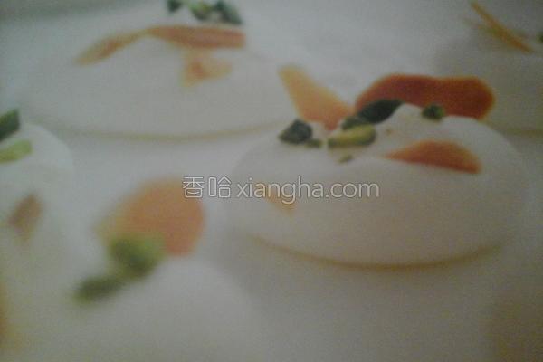 开心果杏仁蛋白酥的做法