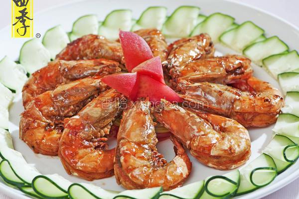 酱烧海大虾的做法