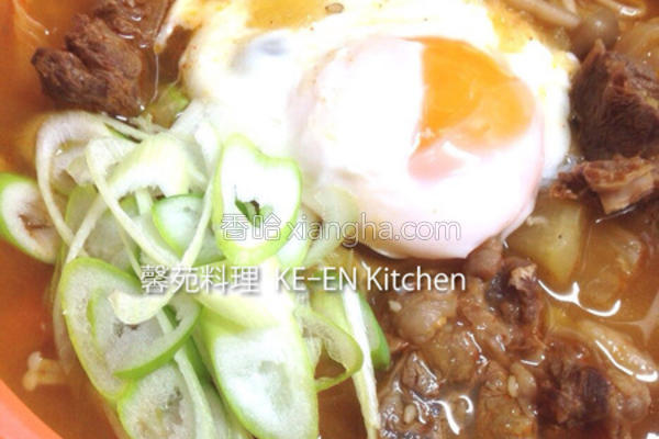 韩式牛肉汤的做法