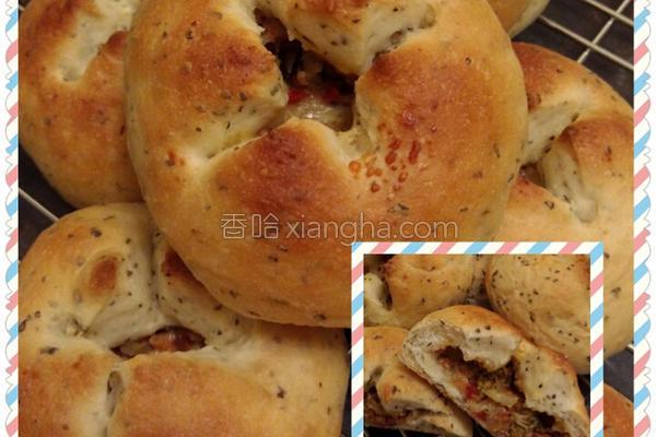 农村派面包的做法