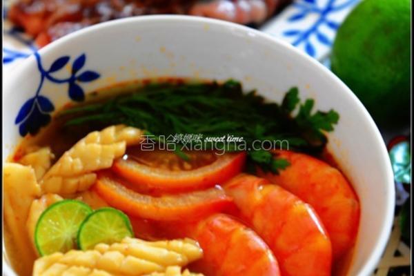 泰式酸辣海鲜汤的做法