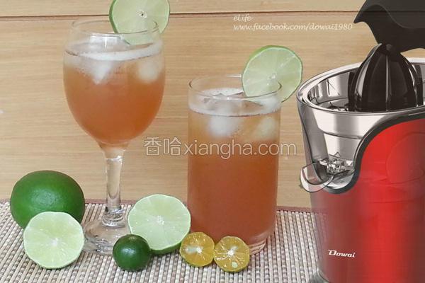 金桔柠檬红茶