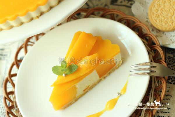 芒果乳酪塔的做法