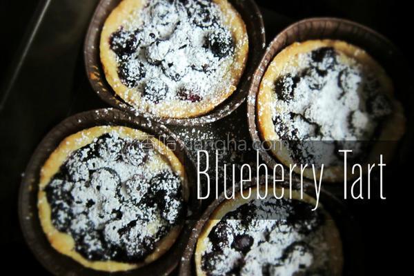 蓝莓塔的做法