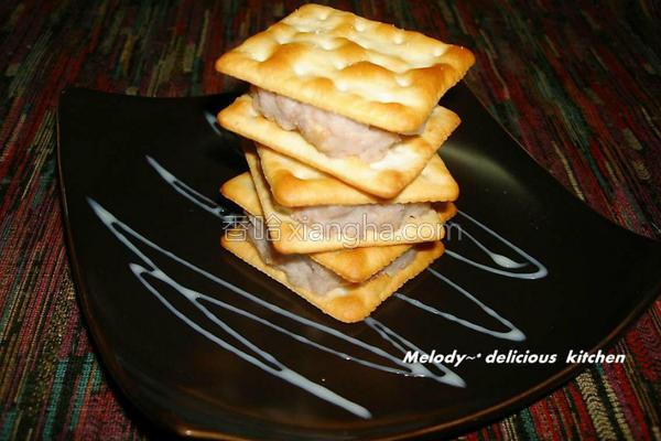 乳香芋泥饼的做法