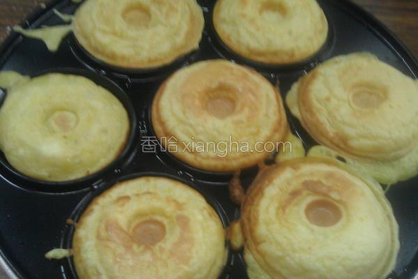甜甜圈松饼的做法