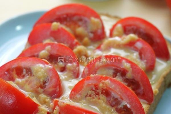神奇番茄土司的做法
