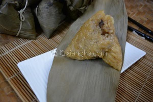 香Q鸡肉粽的做法