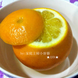 盐蒸橙的做法[图]