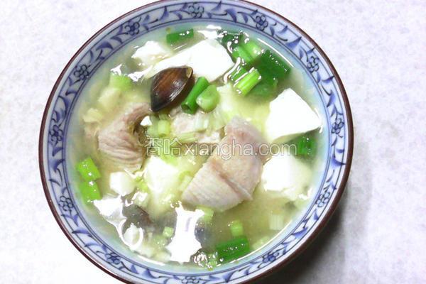 旗鱼味噌汤