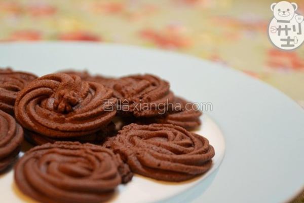 手工巧克力饼干的做法