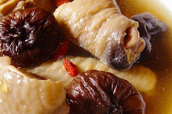 厚生厨房香菇鸡汤的做法