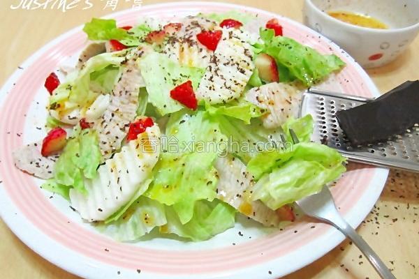 涮涮肉沙拉的做法