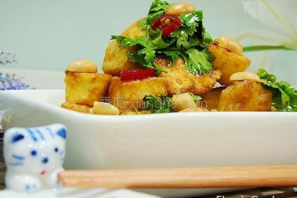 低卡黄金豆腐的做法