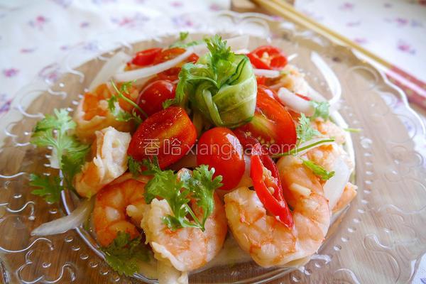 泰式鲜虾沙拉的做法