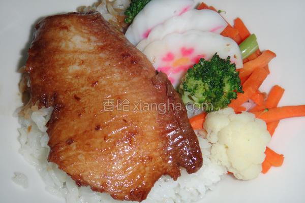 鲷鱼丼饭的做法