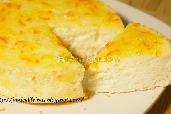 橘天使蛋糕的做法