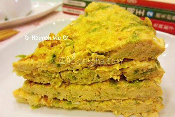 澎湖海菜煎蛋的做法
