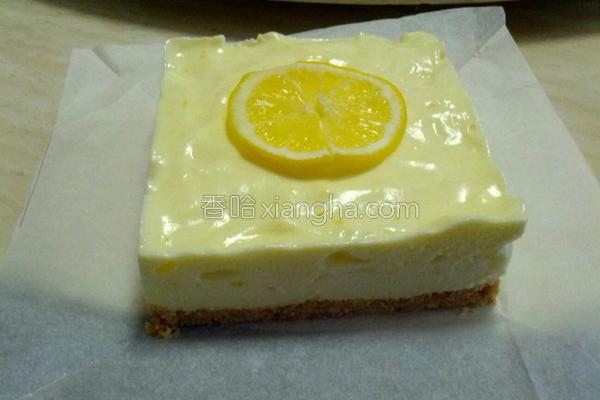 清新柠檬批的做法
