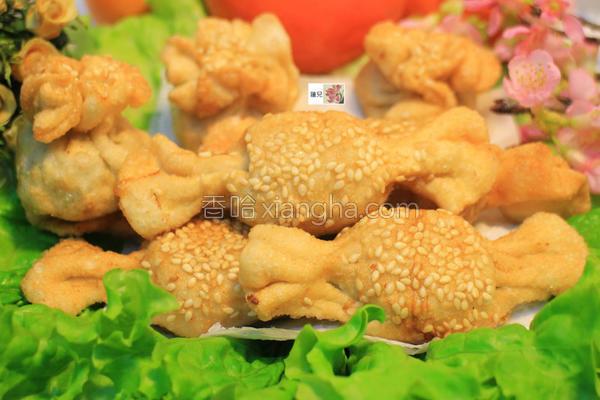 水果虾卷的做法