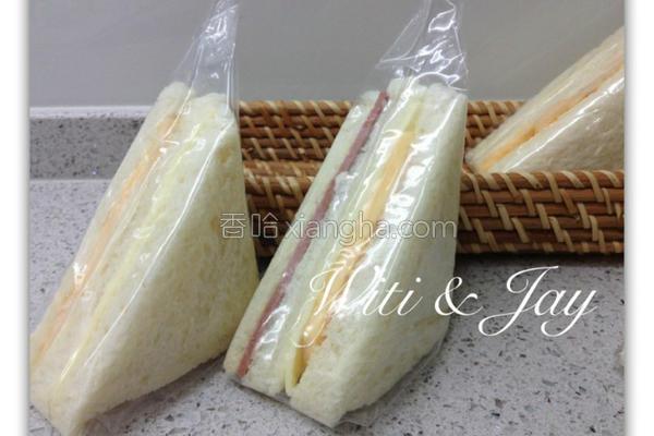 冰冻三明治的做法