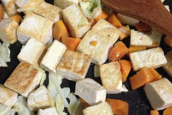 地瓜×豆腐的做法