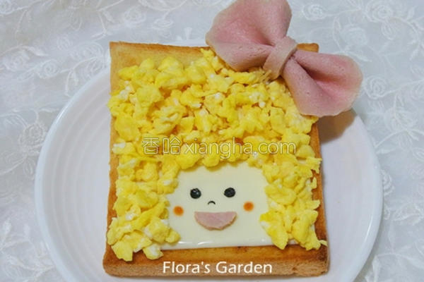 儿童造型吐司的做法