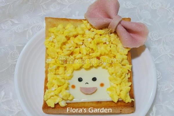 儿童造型吐司