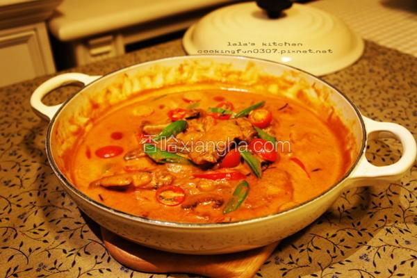 泰式红咖哩鸡翅