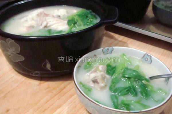 鲜鱼浓汤的做法