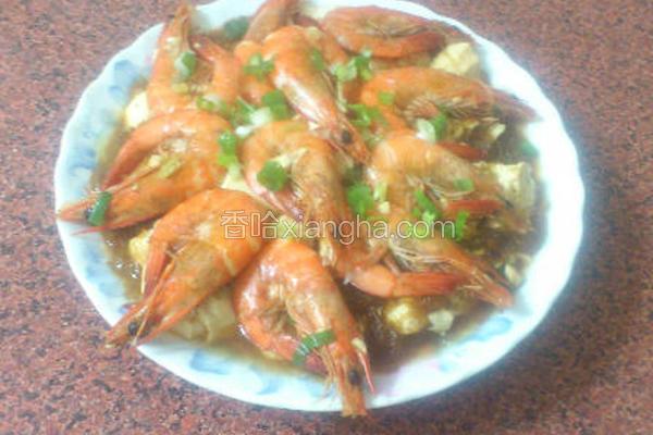 草虾豆腐冬粉煲